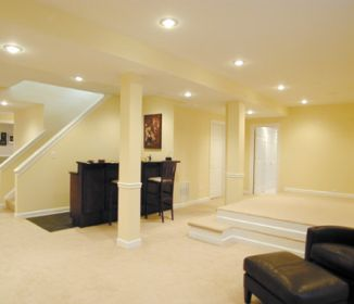 Finished Basement Designs